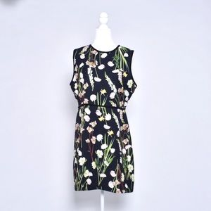 black floral dress size large